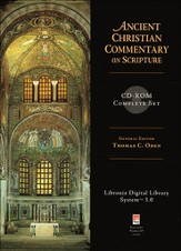 Ancient Christian Commentary on Scripture [ACCS] Complete Set on CD-ROM