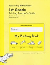 My Printing Book Teacher's Guide, Grade 1, Updated Edition