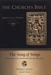 The Song of Songs Interpreted by Early Christian and Medieval Commentators