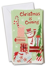 Christmas is Coming, Little Inspirations Cards, Box of 16