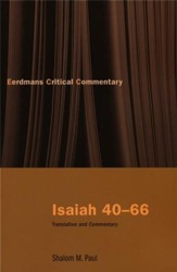 Isaiah 40-66: A Commentary