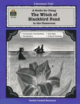 The Witch of Blackbird Pond Literature Guide, Grades 5-8