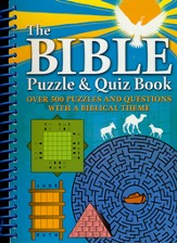 Bible Puzzles & Quiz Book