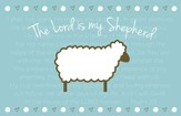 The Lord is My Shepherd Magnet