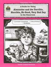 Alexander & the Terrible, Horrible, No Good, Very Bad Day, Literature Guide GR 1-3
