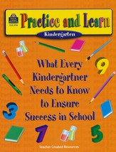 Practice and Learn, Kindergarten