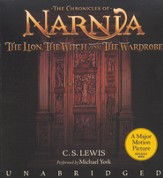 The Chronicles of Narnia:  The Lion, the Witch and The Wardrobe  Movie Tie-In - Audiobook on CD - Slightly Imperfect