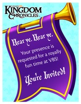 Kingdom Chronicles Invitation postcards (pack of 40)