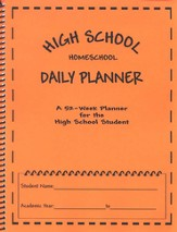 High School Homeschool Daily Planner
