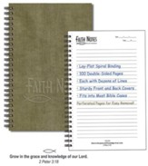 Faith Notes Spiritual Growth Notebook-Sage