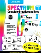 Spectrum Complete Practice and Prep, Grade 1