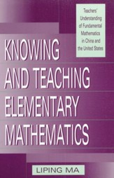 Singapore Knowing and Teaching Elementary Math by Liping Ma