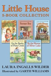Little House 5-Book Collection: Little House in the Big Woods, Farmer Boy, Little House on the Prairie, On the Banks of Plum Creek, By the Shores of Silver Lake - eBook