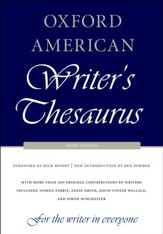Oxford American Writer's Thesaurus, Third Edition