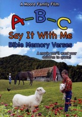 ABC Say It With Me Bible Memory Verses DVD