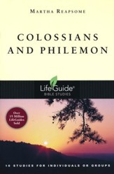 Colossians & Philemon, Revised   LifeGuide Scripture Studies