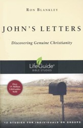 John's Letters, LifeGuide Scripture Bible Studies