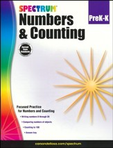 Spectrum Numbers and Counting, Grades PreK-K