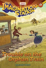 Trouble on the Orphan Train - eBook