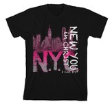 NYC, New You In Christ Shirt, Black, Large
