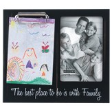 Family Photo Frame with Memo Clip