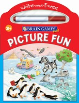 Brain Games Kids Write & Erase: Picture Fun