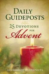 Daily Guideposts: 25 Devotions for Advent - eBook