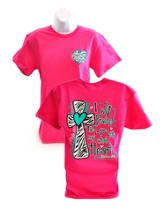 I Will Praise the Lord, Cherished Girl Style Shirt, Pink, Small