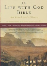 The Life With God Bible, New Revised Standard Version Softcover