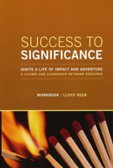 Success to Significance -workbook