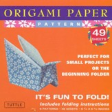 Origami Paper Pattern with 8 page booklet