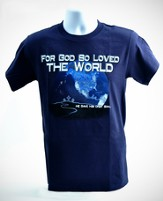 Just For You, John 3:16 Shirt, Navy, Small