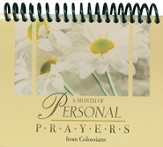 A Month of Personal Prayers From Colossians Desktop Calendar