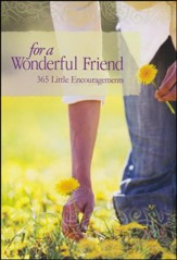 For a Wonderful Friend, 365 Little Encouragements Book