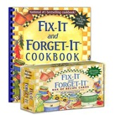Fix-It and Forget-It:  Cookbook and Recipe Cards