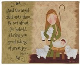 Good Tidings, Shepherd and Jesus Sign