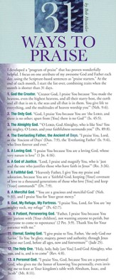 31 Ways To Praise Prayer Card, Pack of 50