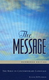 The Message, Numbered Edition