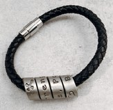 Spiral Message Bracelet, Blessings, Power, Strength