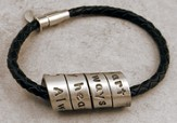Spiral Message Bracelet, Always In My Heart