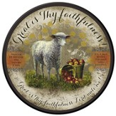 Great Is Thy Faithfulness Plaque