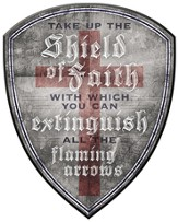 Shield of Faith Plaque