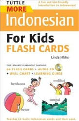 More Indonesian for Kids Flashcards