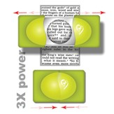 Pocket Magnifier, Lime Green