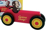 Curious George Wood Car