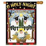 O Holy Night Large Flag