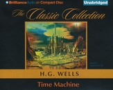 Time Machine Unabridged Audiobook on CD
