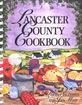 Lancaster County Cookbook (comb binding)