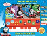 Thomas & Friends: Deluxe Music Set - Three Play-A-Song Books And Keyboard