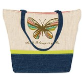 Believe In Possibilities, Butterfly Tote Bag